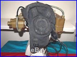 Night-vision device Original Soviet Union USSR Tankman Tank Cap Helmet. SUMMER