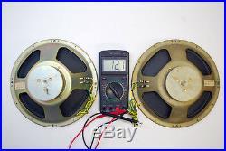 Nos Pair 10 Lomo Kinap 4a-28 4a28 Rare Vintage Ussr Soviet Full Range Speakers