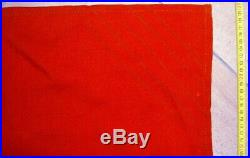 Original Ussr Cccp Military Navy Soviet Union Flag 1988 Sickle & Hammer Marked