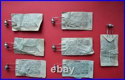 P2B / 2 RARE Vintage Germanium PNP Transistor ARTIFICIAL SATELLITE USSR 1956