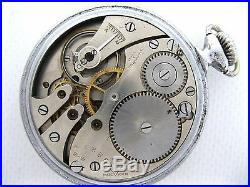 Pocket watch Zlatoust Factory ZChZ 15 jew USSR Soviet Union Russian