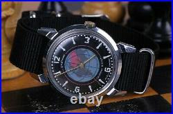 Poljot Union KIROVSKIE Watch SPUTNIK Satellite 1MChZ 1950's USSR Vintage Soviet