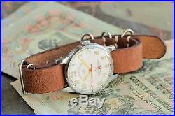 Poljot watch Sturmanskie, vintage watch, Soviet watch, 1MChZ factory, rare watch