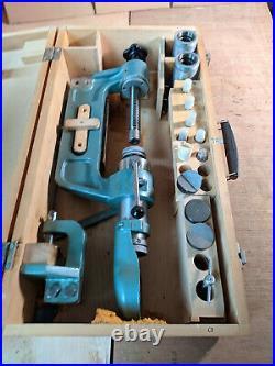 Portable Rockwell Hardness Tester Set in Box Vintage USSR