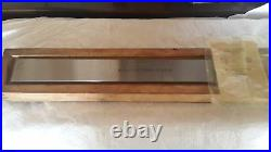 Precision Machinist Straight Edge 400mm Class 1 Made in USSR Top Grade