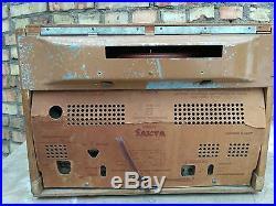 Radio record player very rare SAKTA USSR radiola radiogram Vintage Tube
