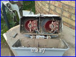 Railroad Train Track Switch Light Signal Marker Traffic RED 80s Authentic USSR
