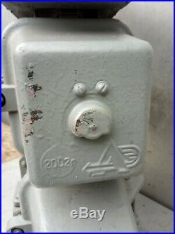 Railroad Triple Light Signal Marker Train Track Traffic Vintage Cast Iron Dwarf