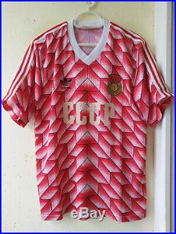Rare Vintage 80s CCCP, Soviet Union, USSR Adidas home shirt, jersey 1988
