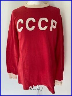 Russia Cccp Ussr Soviet Union 1976 #9 Blokhin Match Worn