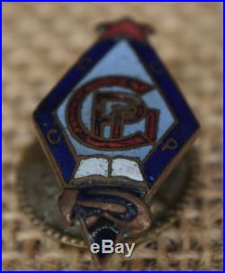 Russian Russia Soviet Ussr Cccp Order Medal Pin Badge Writer Union