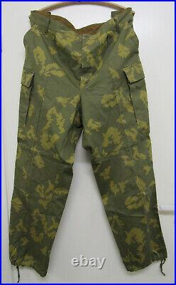 Russian Soviet KGB Frontier guard Camo Birch Trousers. Size 58-5. Dated 1982