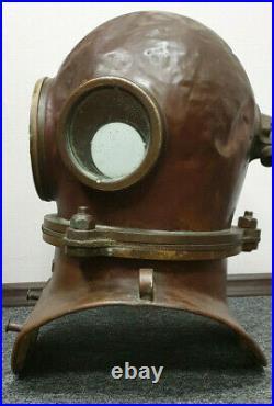Russian Soviet diving helmet (year 1960). USSR MARITIME