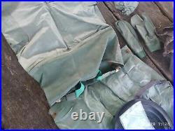 Russian navy diversionist rubber drysuit GDK