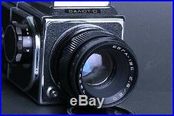 SALUT-C medium format film camera 6x6 with VEGA 12 V lens