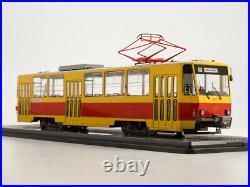 Scale model Tram 143 Tatra-T6B5