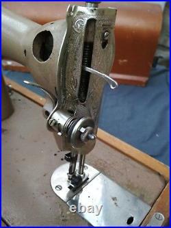Sewing Machine & Case Vintage Retro USSR Soviet