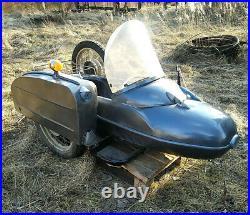 Sidecar Motorcycle USSR Vinage Original