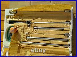 Sigmoidoscope Proctoscope Rectoscope Kit Stainless Steel Vintage 1977
