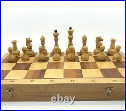 Soviet Grossmeister Chess Set Russian Vintage USSR Antique Tournament 4545