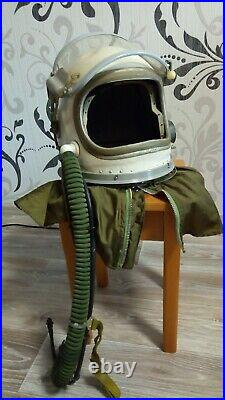 Soviet High-Altitude Helmet -6 Pilots MiG-25 & MiG-31 USSR Documents