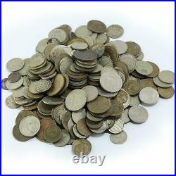 Soviet Russia, USSR, Lot of 2 lbs different coins/kopeek, different years