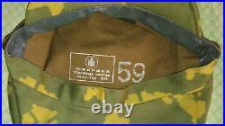 Soviet Russian Beret Camo Afghanistan Visor Cap Military USSR Beret Cap 59