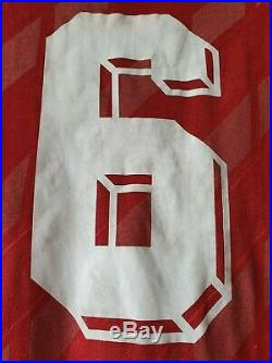 Soviet Union 1987/1988/1989 MATCH WORN Adidas Football Soccer Shirt Jersey USSR