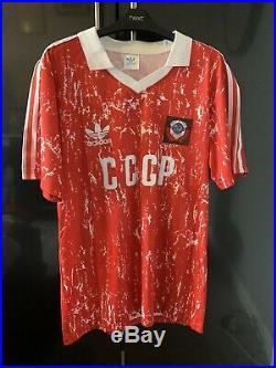 Soviet Union Football Shirt Vintage Adidas