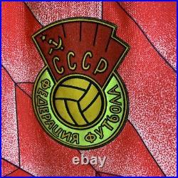 Soviet Union Home Football Shirt 1988/89 Adults Medium Adidas D151