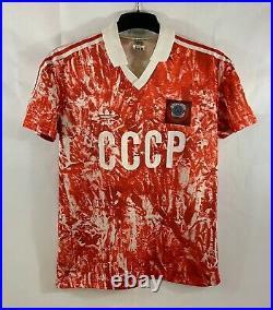 Soviet Union Home Football Shirt 1989/91 Adults Medium Adidas B50