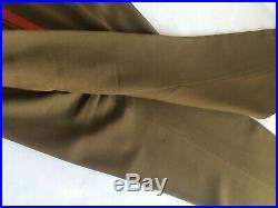 Soviet Union USSR Chief Marshal Tanker Military Uniform Kit Green Size XXL