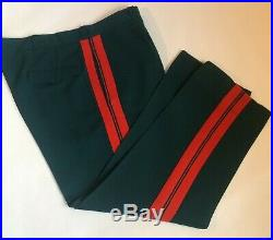 Soviet Union USSR Size XXL Green Major General Parade Military Uniform