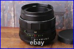 Soviet lens, Linse HELIOS 44m-4 2/58mm M42 Bokeh LENS, Portrait Lens, Good Condit