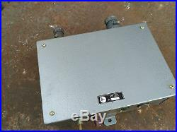 Speaker Control Panel Microphone Intercom Selector Loudspeaker Vinage Army