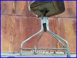 Swivelling Industrial Office Desk Chair Vintage Retro