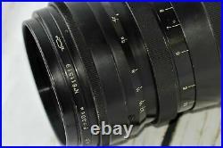 TAIR-3 14,5 f=300mm Rare Lens Grand Prix Brussels1958 Soviet Russian Telephoto