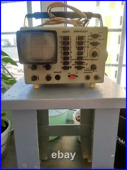 The OML-2M portable oscilloscope, old ussr gadget