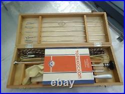 Thoracoscopy Doctor Medicine Set Box USSR Vintage