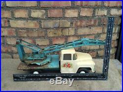 Toy Truck Crane Vintage Ussr