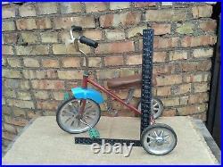 Tricycle Bike Bicycle Three Wheel Kids Children Vintage Soviet Russian USSR