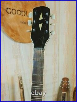 UNKNOWN Rare Vintage Electric Guitar Soviet USSR Russia