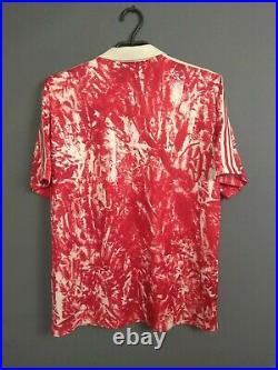USSR Jersey 1989 1991 Home L Shirt Mens Football Soccer Soviet Union Adidas ig93