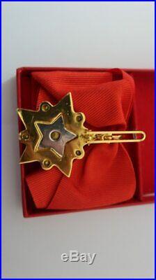 USSR Marshal Star Badge Honor Labor Soviet Union Order Brooche Emblem Symbol WW2