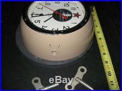 USSR Russian Soviet Union CCCP Kauahguyckue Maritime Submarine Clock Keys Door $