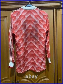 USSR Soviet Union 1988/1990 Home Longsleeve Jersey Football Shirt