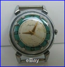 USSR Vintage Soviet Union KIROVSKIE'Spider' 1MWF Watch 1950's