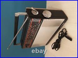 USSR Vintage portable radio receiver Transistor VEF 317. Made in Soviet Union