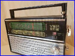 VEF 206 Portable Radio LW, MW, 6 SW USSR Soviet Union Fully Working