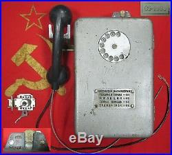 VINTAGE STREET payphone PHONE 1990 LAST CENTURY Soviet Union USSR Russia